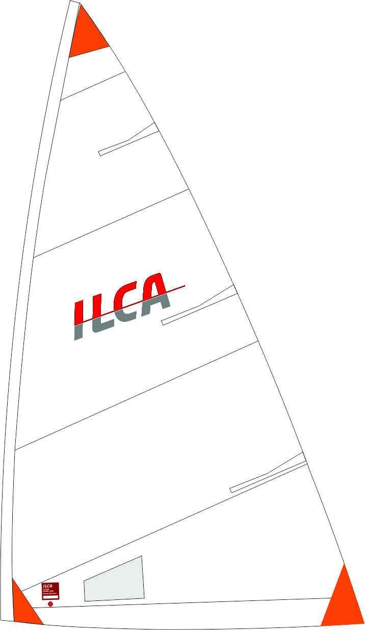 Vela 4.7 Size4 ILCA Marca Hyde