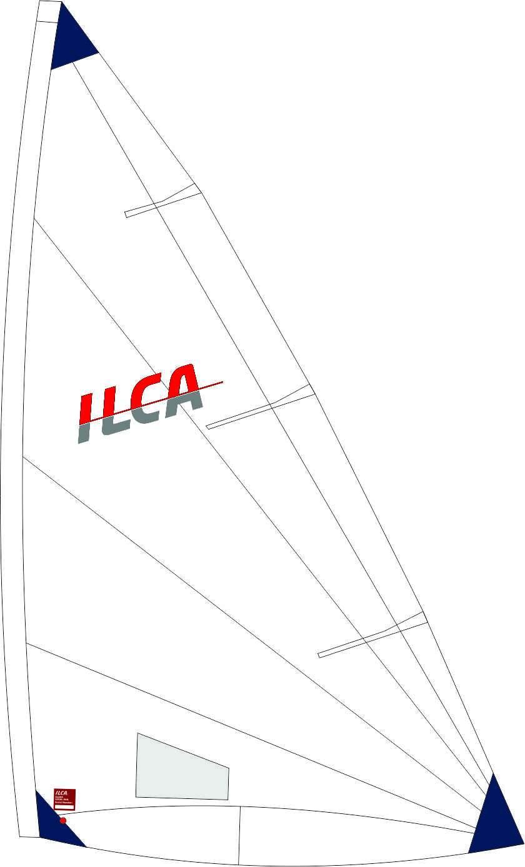 Vela Radial Size6 ILCA Marca Hyde